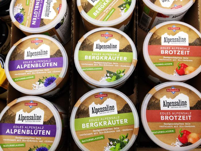 Bad Reichenhaller salt packaging 4
