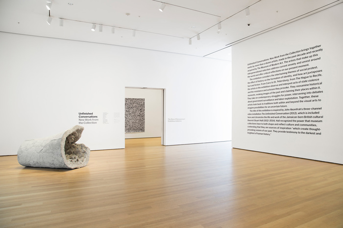 Unfinished Conversations: New Work from the Collection at MoMA 2