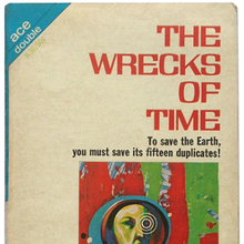<cite>The Wrecks Of Time</cite> by Michael Moorcock (Ace)