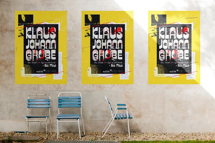 Klaus Johann Grobe concert poster 2