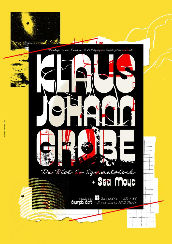 Klaus Johann Grobe concert poster 1