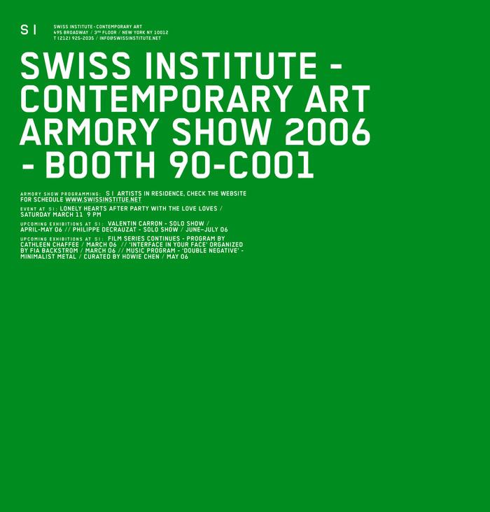 Swiss Institute New York 1