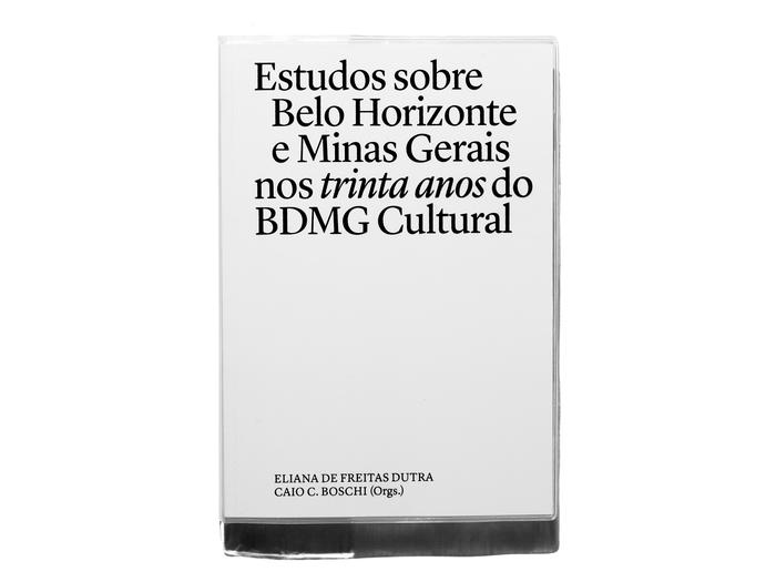 Estudos sobre Belo Horizonte e Minas Gerais nos trinta anos do BDMG Cultural 1