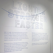 <cite>Lighter, Stronger, Faster</cite> at MIT Museum