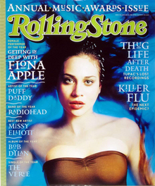 "<cite>Rolling Stone</cite> magazine, ""Annual Awards Issue"" No.<span class=""nbsp""> </span>278, Jan 22, 1998"