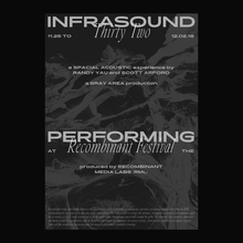 Infrasound 32 at the Recombinant Festival