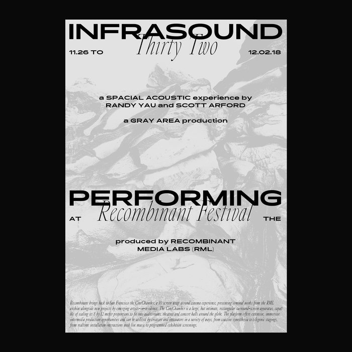 Infrasound 32 at the Recombinant Festival 2