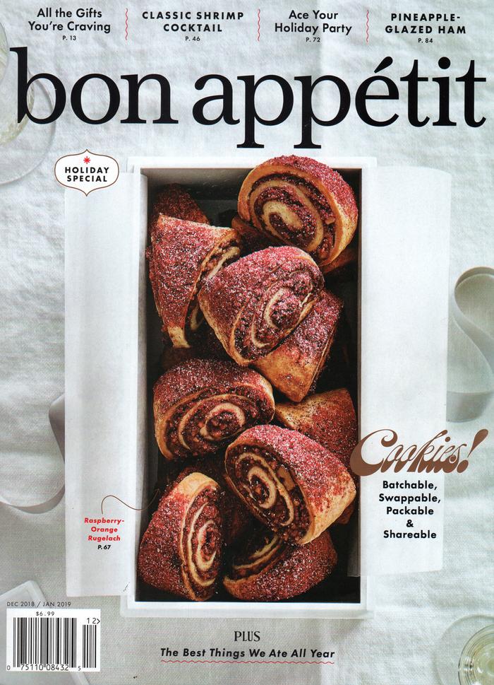 Bon Appétit, December 2018 1