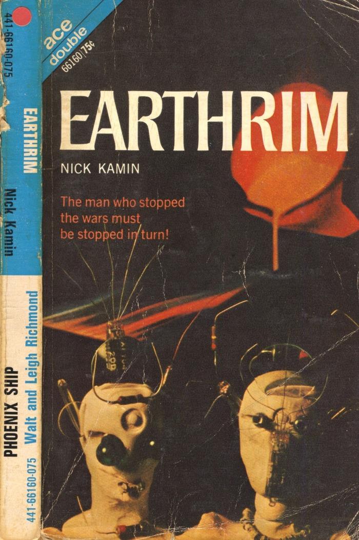 Earthrim by Nick Kamin (Ace Books)