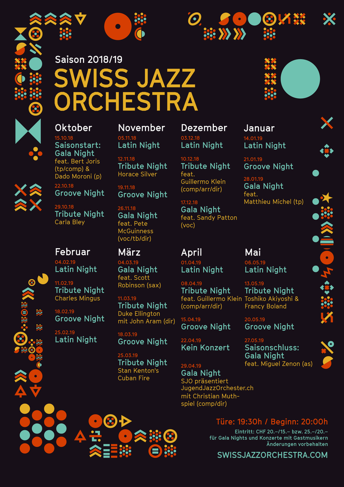 Small program poster