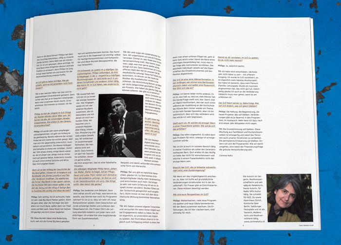 Season brochure interview page