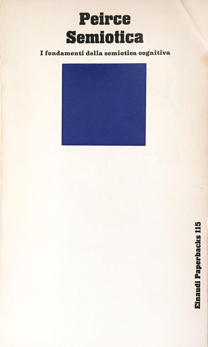 Semiotica by Charles Sanders Peirce, Einaudi Paperbacks 115