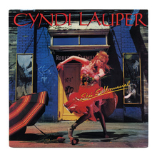 <cite>She's So Unusual </cite>– Cyndi Lauper