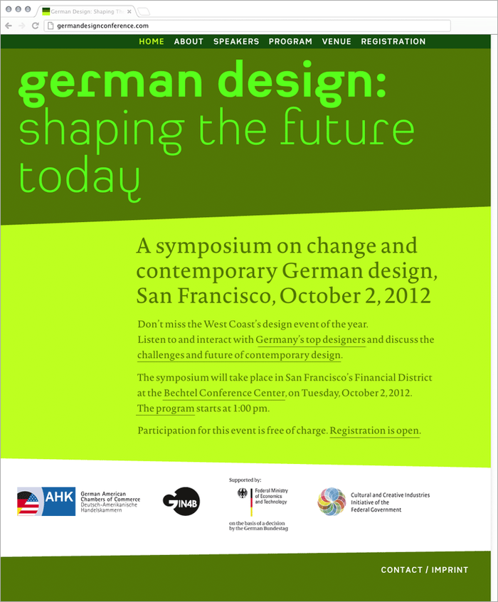 German Design Conference 1