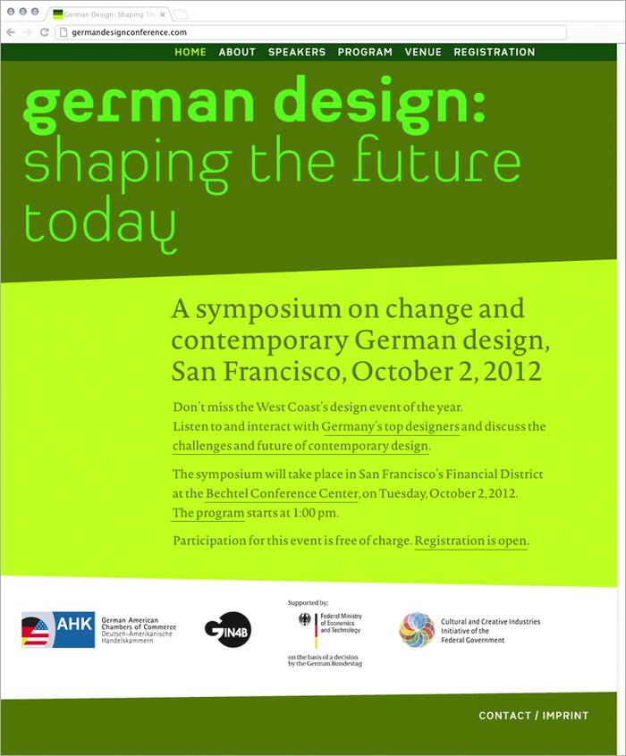 German Design Conference 1