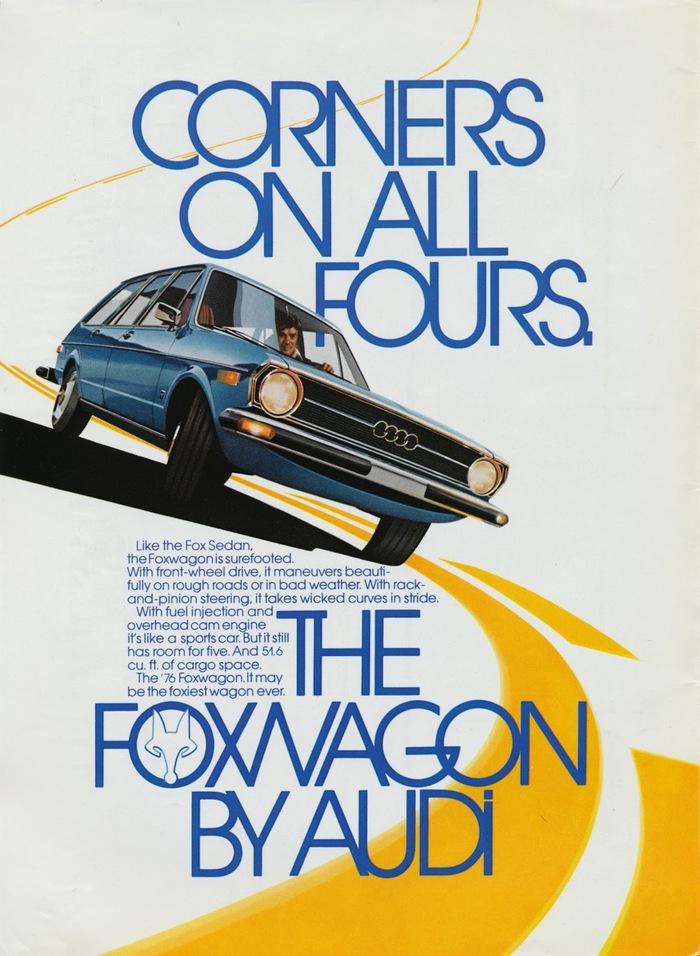 Audi Fox advertisements 2