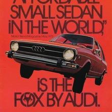 Audi Fox advertisements