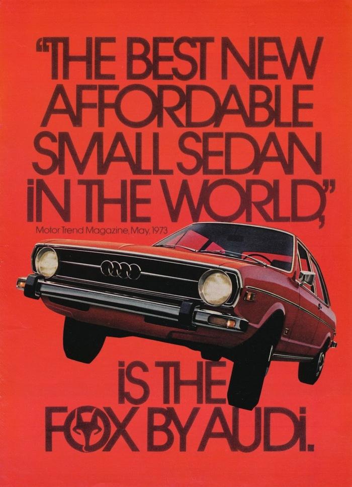 Audi Fox advertisements 4