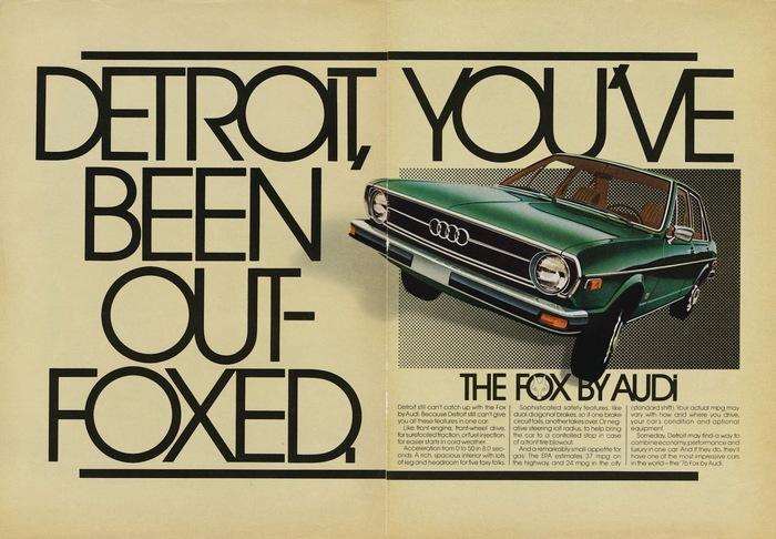 Audi Fox advertisements 5
