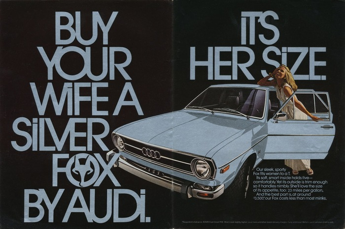 Audi Fox advertisements 6
