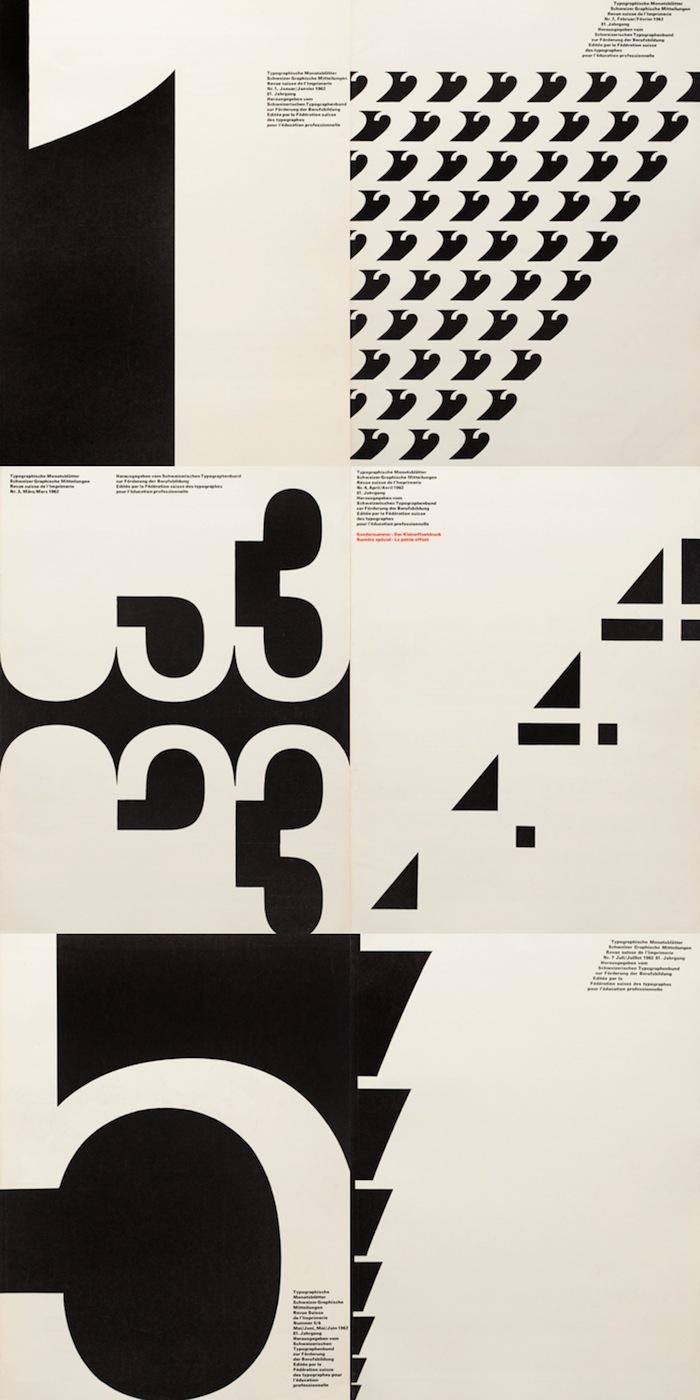 Typographische Monatsblätter 1962 issues 1