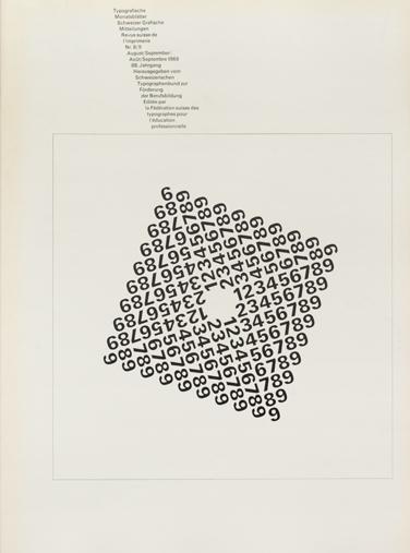 Typographische Monatsblätter 1969 issues 1