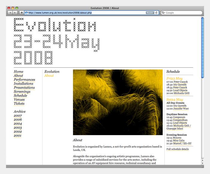 Evolution 2008 4
