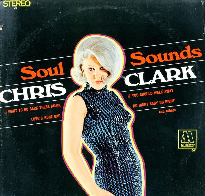 Chris Clark – Soul Sounds album art