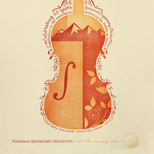 National Repertory Orchestra Poster