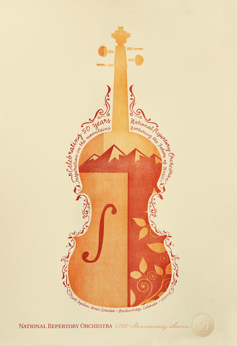 National Repertory Orchestra Poster 1