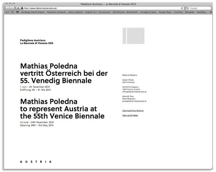 Austrian pavilon at Biennale Venice 2013 1
