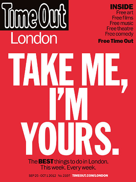 Time Out London, first free edition