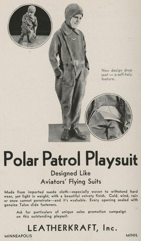 Polar Patrol Playsuit ad
