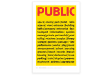 Public Works poster