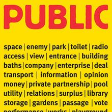 Erik Spiekermann Public Works Poster
