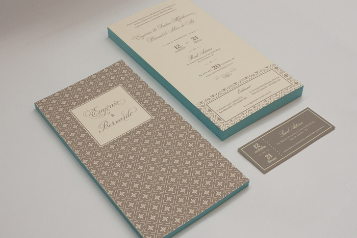 Didi & Bernardo wedding invitation 1