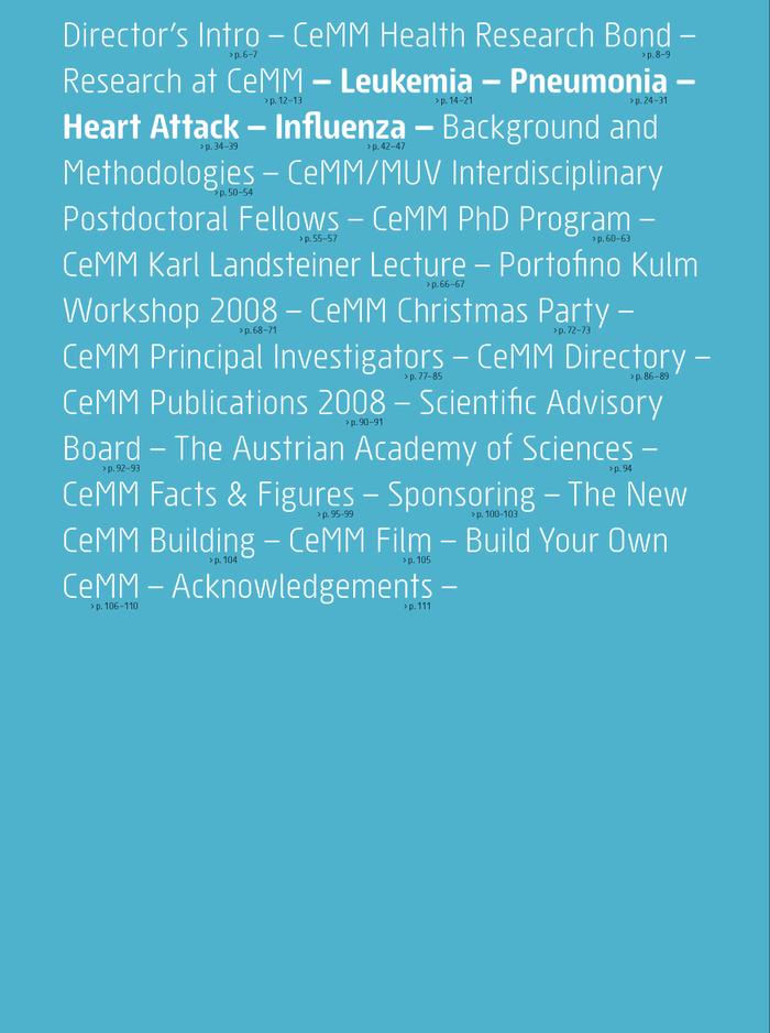 CeMM annual report 1