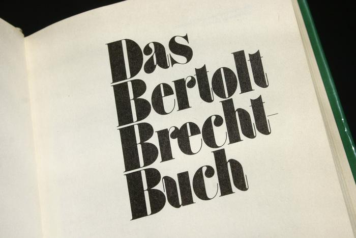 Das Bertolt Brecht-Buch 3
