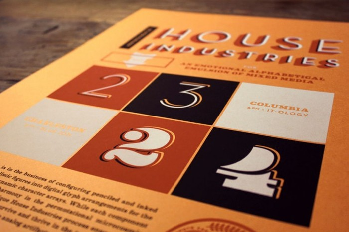 House Industries Lecture at AIGA South Carolina 2