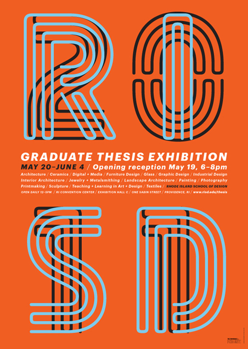 2011 RISD Graduate Thesis Exhibition 1