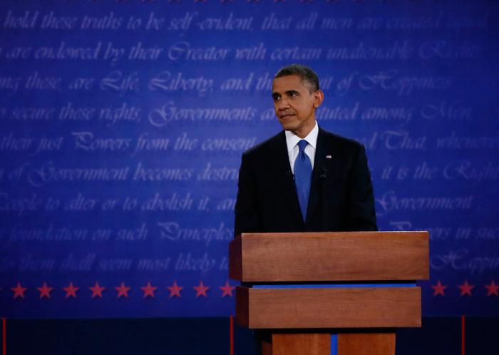 2012 US Presidential Debates Backdrop 3