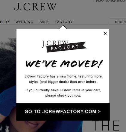 J.Crew Factory Website 4