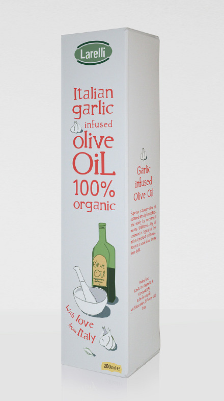 Larelli Olive Oils (alternate design) 1