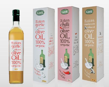 Larelli Olive Oils (alternate design) 2