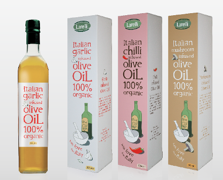 Larelli Olive Oils (alternate design) 2