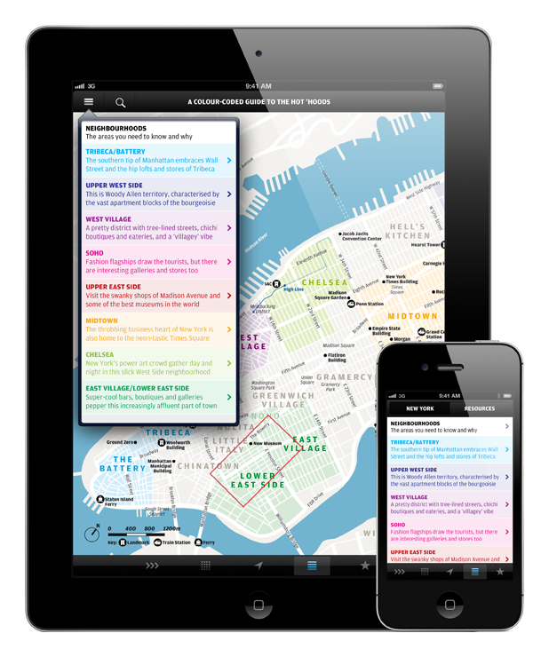 Wallpaper* City Guide Apps for iOS 1