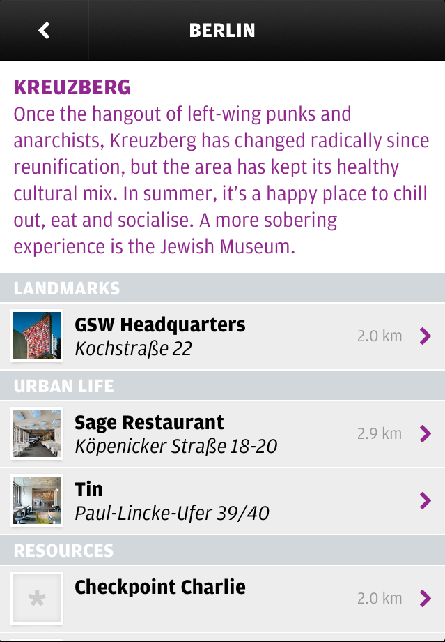 Wallpaper* City Guide Apps for iOS 3