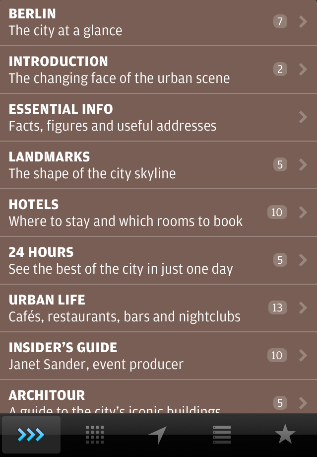 Wallpaper* City Guide Apps for iOS 6