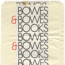 Bowes & Bowes shopping bag