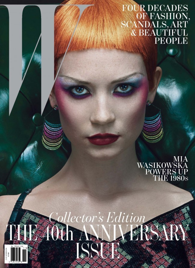 W magazine, October 2012 (40th Anniversary Issue) 3